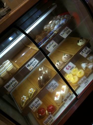 ケーキケース Sweet Bar@幡ヶ谷
