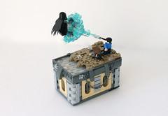 Expecto Patronum (Louis K.) Tags: black k james kiss lego harry potter spell sirius joanne hogwarts vignette base prisoner azkaban rowling dementor 16x10 expecto patronum