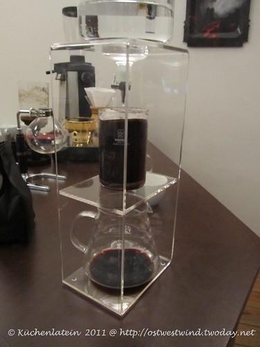 Kaltextraktion von Kaffee