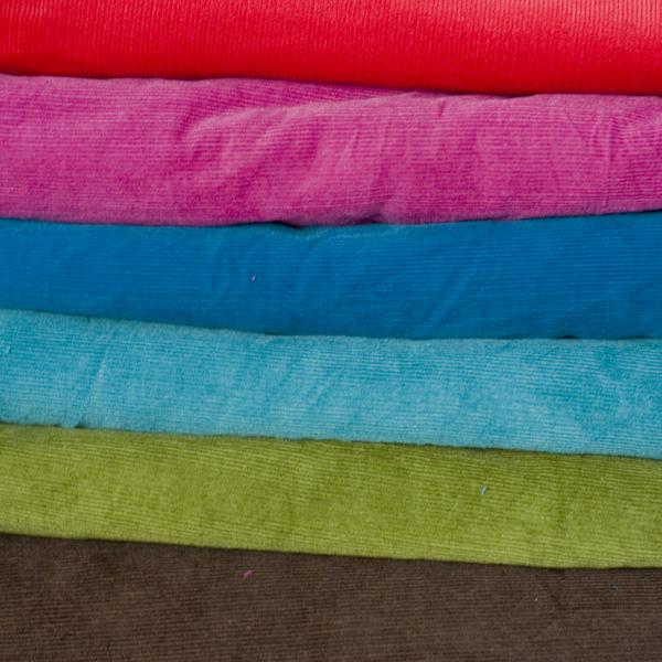 Corduroy fabrics 6 colours
