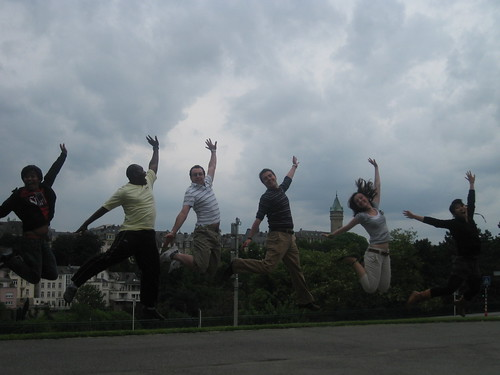 Luxembourg Jumping Shot