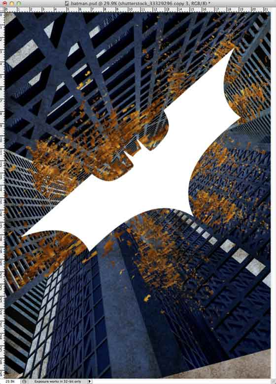 posters de Batman hecho en Photoshop