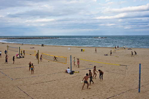 Beach Volleyball Barceloneta Beach