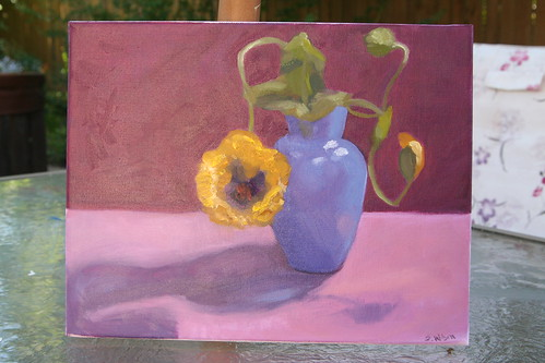 Finished Second Oil Painting