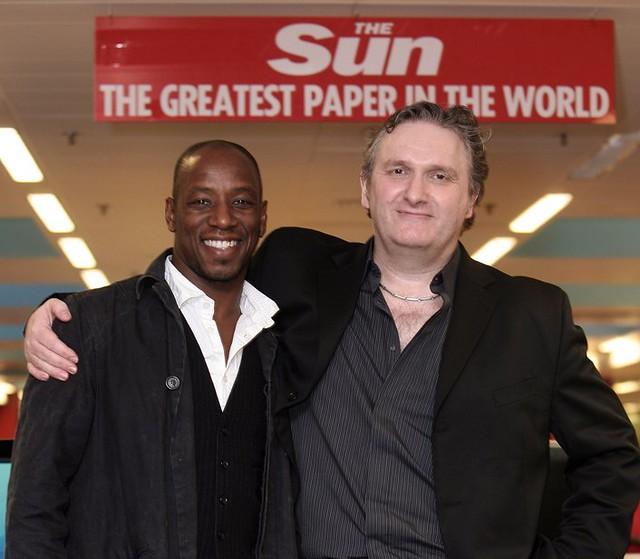 Jim Munro and Ian Wright