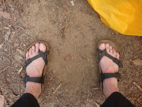 hot & dirty camping feet