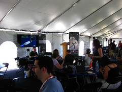 NASA Tweetup Tent post-launch
