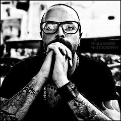 121/365 - Take a rest (Paolo Castronovo) Tags: boy portrait blackandwhite bw selfportrait 6x6 face tattoo canon mediumformat square glasses blackwhite autoportrait body medium autoritratto 365 bodyart ritratti ritratto biancoenero tattooes canon50mm18 500x500 tatuaggi nocolours topsquares paulinnaire