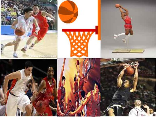 Basketball montage - Web Design homework