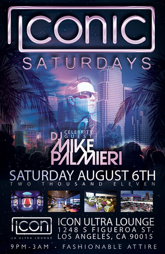 ICONIC SATURDAYS w/ DJ Mike Palmieri @ Icon Ultra Lounge 8-6-11 by VVKPhoto