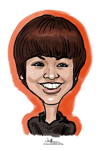 digitcal caricature live sketching for Utell Hotels and Resorts - 4