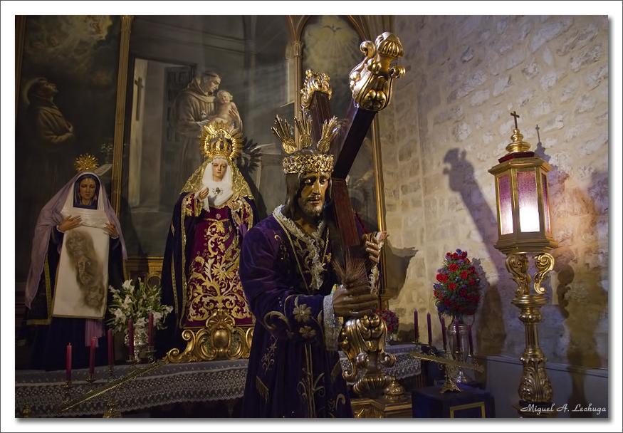 Jesús en Santa María