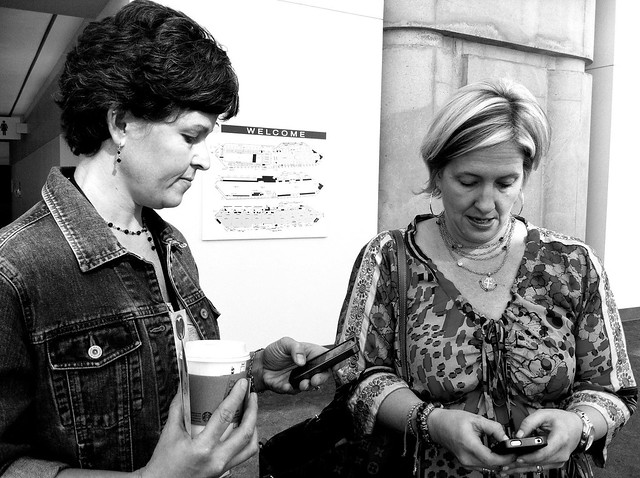 Heather Burrell (@Heather_Today) and Brené Brown (@BreneBrown)
