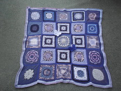 This Blanket was 'made' and 'donated' by a very kind Lady 'Coxabey' on RAV. I can't thank you enough it's superb! I'm sure you will agree.