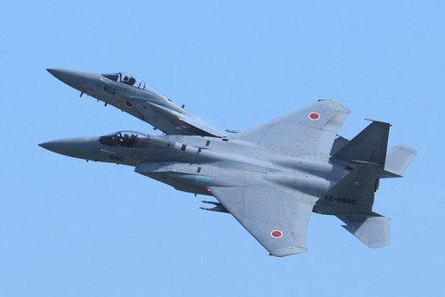 F-15 機動飛行