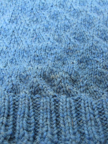 Wave sweater detail