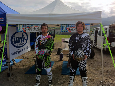木村選手と松本選手