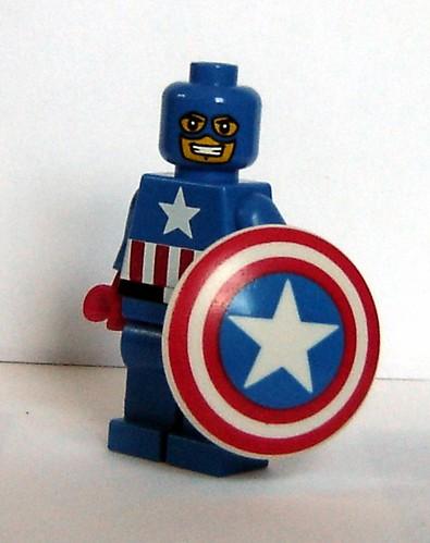Custom minifig The First Avenger