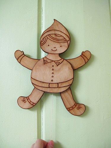 Boy Elf String Puppet 0198_2