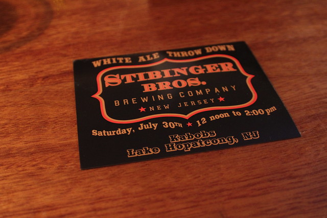 6025465373 826573b26f z Stibinger Brothers White Ale Throw Down