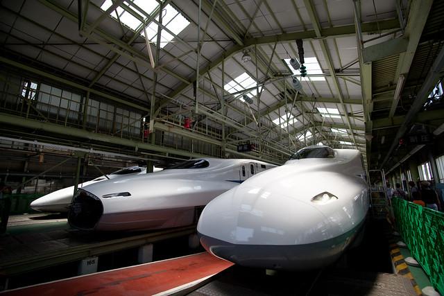 N700系ほか - 新幹線なるほど発見デー2011