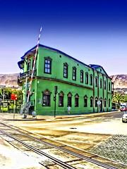 Antofagasta - Oficinas Ferrocarril (Victorddt) Tags: chile sonycybershot ferrocarril antofagasta oficinas barriohistórico fcab