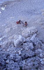 img203b (~ Tilly ~) Tags: blue beach strand 50mm nikon rocks greece rhodes rhodos gestein fe2
