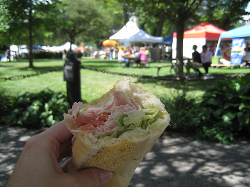 Cousins Sub at Zeidler Square farmers market