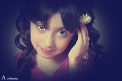 (Alawiyah Alshamimi) Tags: portrait flower girl dream       stunningphotogpin