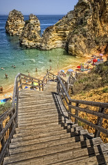 Down to the heaven (Z Snchez) Tags: travel praia beach portugal photography photo europe playa lagos algarve algarbe gettyiberiasummer