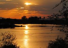 Sunset @ Veterans Oasis Lake (defante) Tags: sunset lake oasis veterans