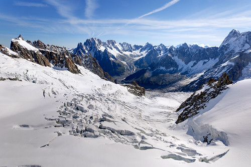 From Chamonix to Courmayer - Aiguille du Midi 34