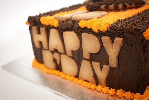 Hawks Footy Birthday Cake