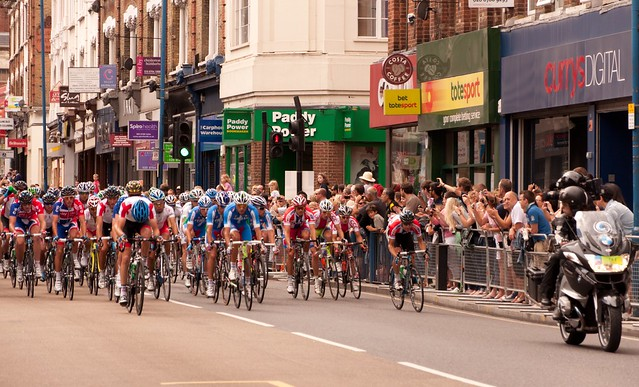 Onward the Putney Peloton!