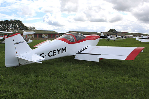 G-CEYM - Vans Rv-6_  Dunkswell