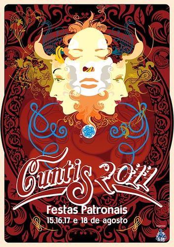 Cuntis 2011 - Festas patronais - cartel