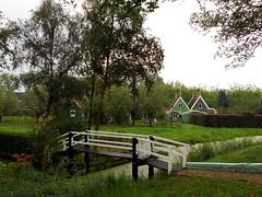 Nel cuore dell'Olanda (RobbiSaet) Tags: city bridge trees verde green amsterdam alberi nikon village nederland ponte coolpix olanda zaanseschans città s3000 villaggio paesibassi robbisaet robertasaettone