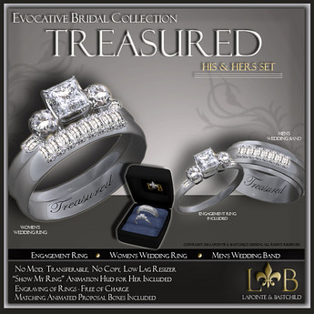 L&B His and Hers Sets Treasured princess plati by Cherokeeh Asteria