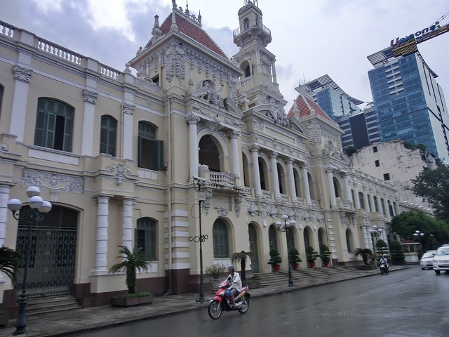 ホーチミン人民委員会庁舎(The Ho Chi Minh City People's Committee Hall) - Ho Chi Minh City , Vietnam