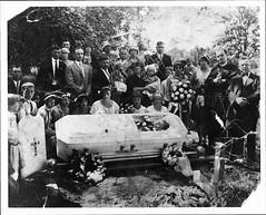Family Album (TooLoose-LeTrek) Tags: graveside casket death familyalbum cemetery funeral
