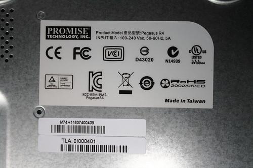 喬鼎 Promise Pegasus R4 外接陣列 DAS