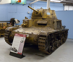 Italian M14/41 Medium Tank (Chris (Midland05)) Tags: england war tank bovington warmachines thetankmuseum