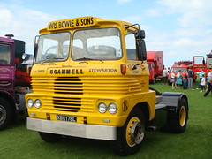SCAMMELL BILLY BOWIE XBN 178L (jamesmc2200) Tags: road bowie run billy unit ayrshire scammell 2011
