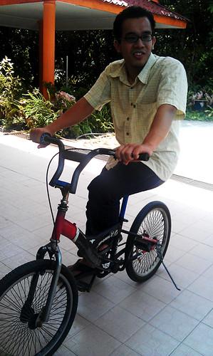 Farhan Faiz dan basikal