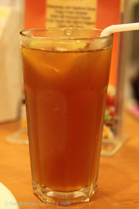 David's Tea House Iced Tea
