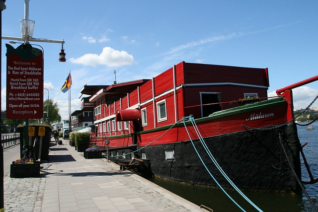 The Reb Boat, Stockholm