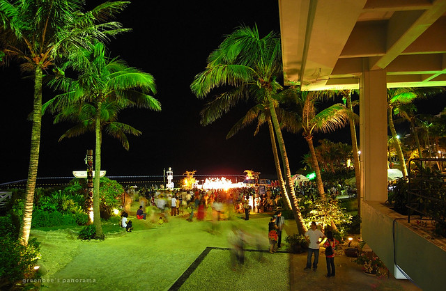 最終日夜のステージ5(ムーンビーチ・ルアウ2011)