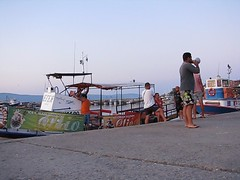 Boat goes to Sunny Beach (Been Around) Tags: travel summer mer holiday man boat video holidays meer europa europe mare niceshot sommer urlaub july eu ansage more bulgaria juli sunnybeach blacksea easterneurope nesebar bulgarie nessebur bul bulgarien 2011 nessebar sonnenstrand osteuropa 5photosaday chernomore  nesebur schwarzesmeer  onlyyourbestshots sdosteuropa bulgarisch concordians thisphotorocks schwarzmeerkste worldtrekker  expressyourselfaward bauimage tschernomore dasschifffhrtzumsonnenstrandbitteschn boatgoestosunnybeach