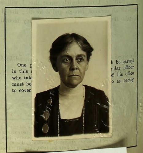 Dr. Alice Hamilton 1919