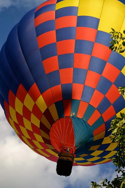 Hot Air Balloon, Stoweflake Festival, Stowe Vermont